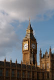 Big Ben. Afternoon sun on Big Ben, London royalty free stock photo