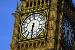 Big Ben. Close up shot of Big Ben during summer in London Stock Images