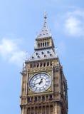 Big Ben. Clock tower in London royalty free stock photos