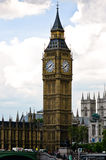 Big Ben. House of Parliament, and Westminster Abbey, London, UK Stock Image