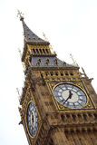 Big Ben. Clock tower in London Royalty Free Stock Photo