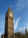 Big Ben. The houses of parliament central London UK royalty free stock photography
