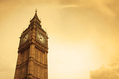 Big Ben. In London, UK, with copy space Royalty Free Stock Photo