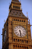 Big Ben. In London with blue sky Royalty Free Stock Photography