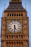 Big Ben. In London with blue sky Stock Images
