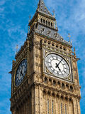 Big ben. Tower in London UK Royalty Free Stock Photos