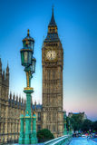 Big Ben. In london shot as HDR image Royalty Free Stock Photography