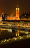 Big Ben. View of Big Ben from South Bank stock images