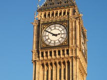 Big Ben. On a clear November day Stock Images