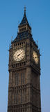 Big Ben. The clock tower housing big ben Stock Images