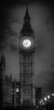 Big ben. Shot in black and white Stock Images