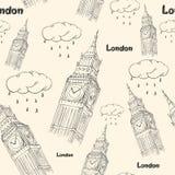 Big Ben illustration stock