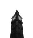 Big ben. This photo was taken of big ben on my trip to London, the focus with this image was to capture the contrast between light and dark Royalty Free Stock Photos