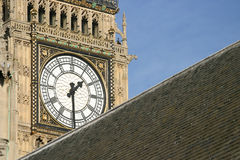 Big Ben. In London Royalty Free Stock Photography