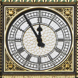 Big Ben - 5 Minuten bis 12 Lizenzfreie Stockfotografie