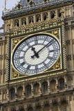 Big ben. Close up of the clock, big ben london Royalty Free Stock Photos