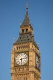 Big Ben. Against a cloudless sky Royalty Free Stock Image