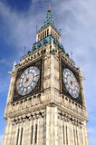 The Big Ben. Tower in London Stock Photos