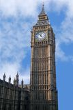 Big Ben. Tower at Westminster which houses Big Ben stock photography
