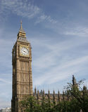 Big Ben,. The world famous Big Ben Tower in Westminster London, England royalty free stock photo