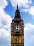 The big ben. The famous Big Ben in London, one of the most popular landmark in Britain stock images