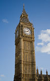 The Big Ben. Vertical view of the Big Ben clock Tower Royalty Free Stock Photo