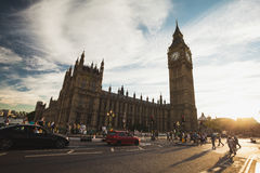 Big Ben in the afternoon Royalty Free Stock Images