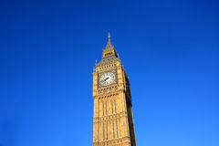 Big Ben against blue sky Royalty Free Stock Photography