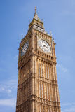 Big Ben against a clear blue sky Stock Photography