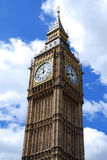 Big Ben against the sky Royalty Free Stock Image