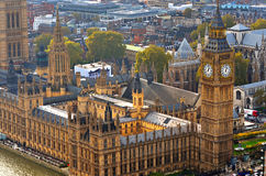 Free Big Ben And Houses Of Parliament, London, UK Stock Photography - 95375722