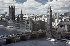 Big Ben And The House Of Parliament In London Royalty Free Stock Photo