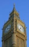 Big Ben angle. Angle view of clock tower Big Ben Royalty Free Stock Photography