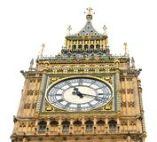 Big Ben architectural detail Stock Image