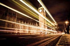 Big Ben At Night Stock Photos