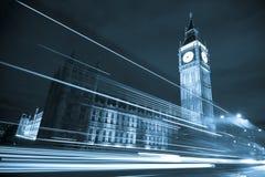 Big Ben At Night Stock Images
