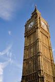 Big Ben auf blauem Himmel Stockfoto