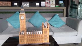 Big Ben av det London 3D pusslet Royaltyfri Fotografi