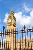 Big Ben behind the fence Royalty Free Stock Photography
