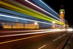 Big Ben bij nacht Royalty-vrije Stock Afbeeldingen