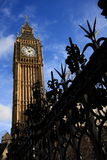 Big Ben with Blue Skies Stock Images
