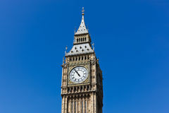 Big Ben with Blue Sky Royalty Free Stock Photo