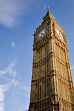 Big Ben on blue sky Stock Photo