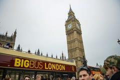 Big Ben, Buckingham Palace, Londra Immagine Stock