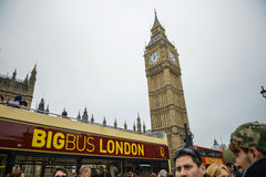 Big Ben, buckingham palace, Londyn Obraz Stock