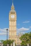 Big Ben (Camere del Parlamento) a Londra Fotografia Stock Libera da Diritti