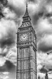 Big Ben, casas del parlamento, Londres Foto de archivo libre de regalías
