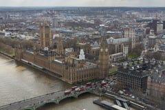 Big Ben, casas del parlamento, y de la abadía de Westminster Fotografía de archivo libre de regalías
