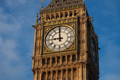 Big Ben in Central London Royalty Free Stock Image