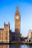 Big Ben in Central London Stock Image